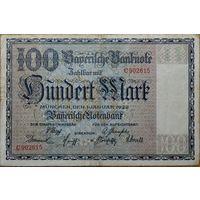 Бавария 100 марок 1922г.