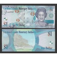 Каймановы острова. 1 доллар 2014 [UNC]