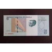 Ангола 5 кванза 2012 UNC