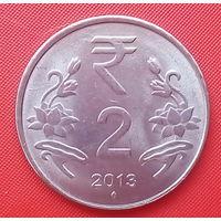65-25 Индия, 2 рупии 2013 г.