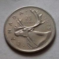25 центов, Канада 1975 г.