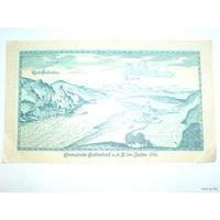 Австрия 50 геллер 1920г. нотхельд  распродажа