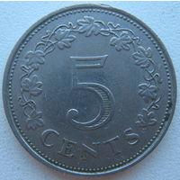 Мальта 5 центов 1972 г. (d)