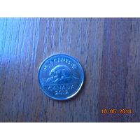 Канада 5 центов 2012