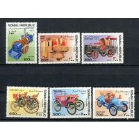 Сомали - 1997 - Старинные автомобили - полная серия - 6 марок. MNH.