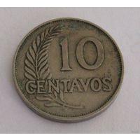 Перу 10 сентаво 1941 года