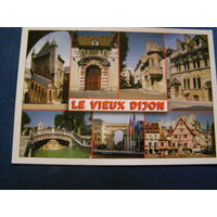 Франция Дижон открытка 2002
