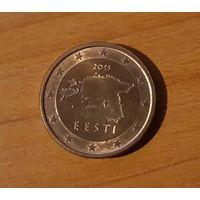 1 евроцент 2015 Эстония