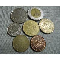 Монеты лотом.
