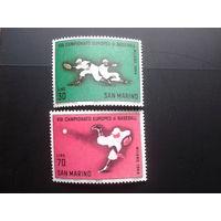 Сан-Марино 1964 бейсбол полная серия