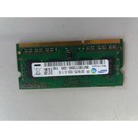Оперативная память для ноутбука SO-DIMM DDR3 2Gb Samsung PC-10600 M471B5773DH0-CH9 (906619)