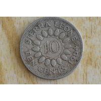 Сьерра-Леоне 10 центов 1964