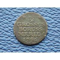 1/2 гроша 1796 г.