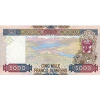 Гвинея - 5000 Франков 2012 XF как новая. 0342866 распродажа