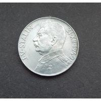 50 крон 1949, Чехословакия, серебро. Сталин. 70 лет со дня рождения