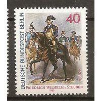 Германия Берлин 1980 живопись**  250-летию со дня рождения генерал фон Штойбен