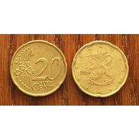 Финляндия, 20 евроцентов 2001