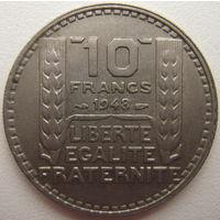Франция 10 франков 1948 г. (d)