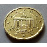 20 евроцентов, Германия 2009 G