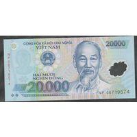 Вьетнам 20000 донг. 2006. Полимерная. Р120а. UNC