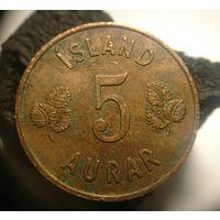 Исландия 10 эре 1966  10 AURAR