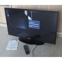 """Телевизор ЖК """"Samsung"""" UE32FH4003W, повреждена матрица, остальное работает исправно."""