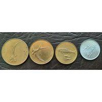 Набор монет Словении.