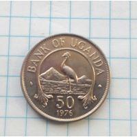 Уганда 50 центов 1976г.Состояние.