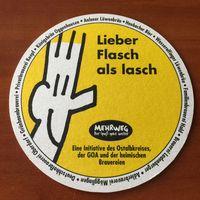 Подставка под пиво Lowenbrau Neubacher Bier