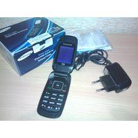 Телефон Samsung E1310M зарядное, коробка, документы. Продаю телефон как есть и ВСЁ ПО ЦЕНЕ АККУМУЛЯТОРА + ЗАРЯДКА.