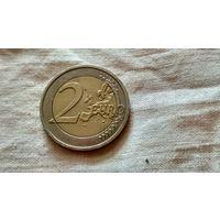 2 евро. Ирландия 2008.с рубля