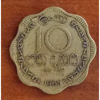 Цейлон 10 центов