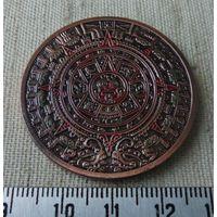 Медаль Календарь Ацтеков