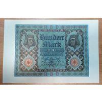 100 марок 1920 года - Германия - aUNC-UNC