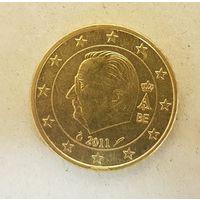 50 евроцентов 2011 Бельгия