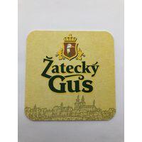 Подставка под пиво Zatecky Gus /Россия/
