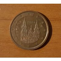 2 евроцента 2004 Испания