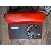 Tesla TA-32. Телефон стационарный дисковый. Рабочий. Чехословакия