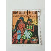 Гвинея Бисау 1983. Демократический Союз женщин