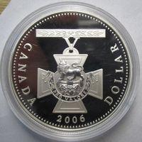 Канада, доллар, 2006, серебро, пруф