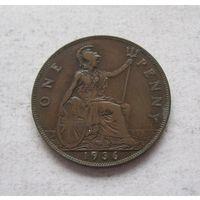 Великобритания 1 пенни 1936 Георг V
