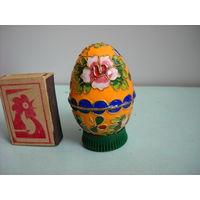 Яйцо.Бронза.Цветные эмали.