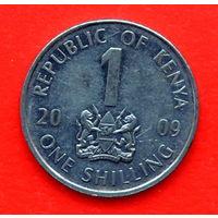 35-27 Кения, 1 шиллинг 2009 г.