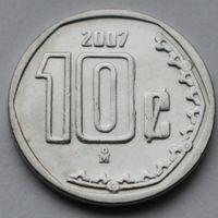 Мексика, 10 сентаво 2007 г