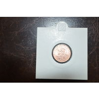 Тонга 1 цент образца 2005 года