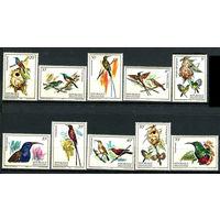 Руанда - 1983г. - Птицы - полная серия, MNH [Mi 1214-1223] - 10 марок