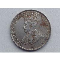 Стрейтс сетлментс Георг 5 1920г пол доллара