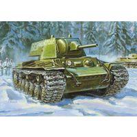 """КВ-1 (1940), сборная модель 1/35 """"Звезда"""" 3624"""