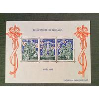 Монако. 1982 г. Рождество **(МО)