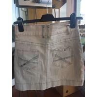 Юбка джинсовая 2 шт размер 27